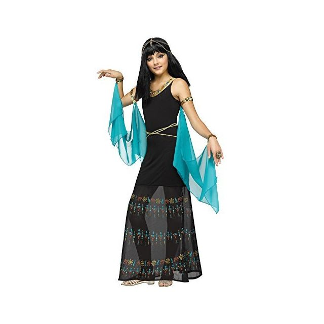 Fun World Girls Egyptian Queen Costume Multicolor Large 12-14
