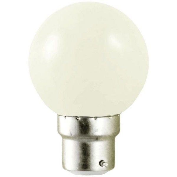 visionel ampoule led b22 blanc chaud 1w pas cher achat vente spot projecteur rueducommerce. Black Bedroom Furniture Sets. Home Design Ideas