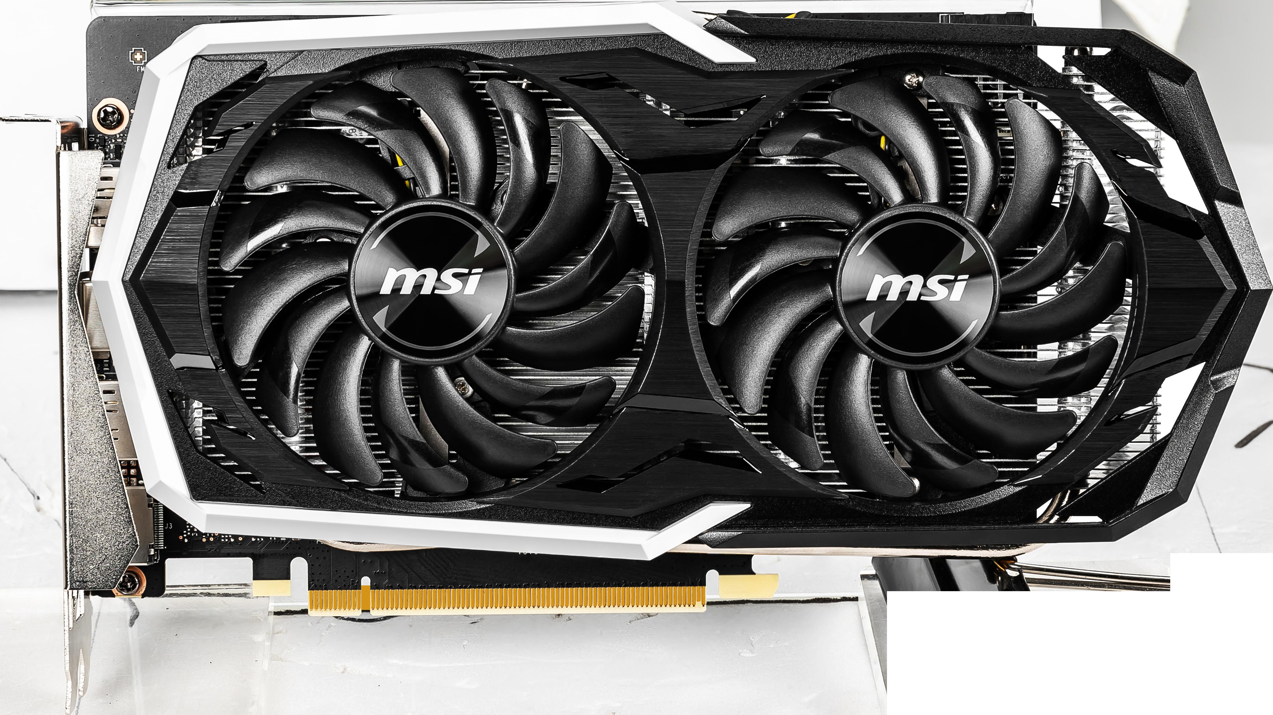 Carte graphique GeForce GTX 1660 Ti Armor OC 6 Go MSI