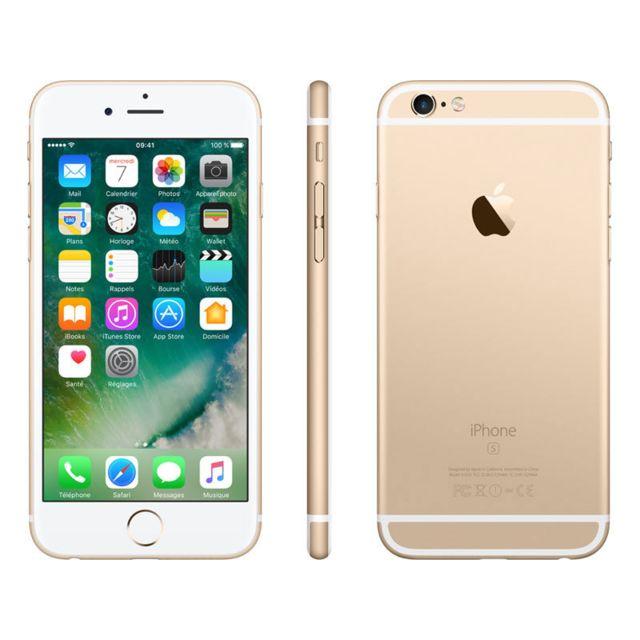 apple iphone 6s 64 go or pas cher achat vente smartphone classique ios rueducommerce. Black Bedroom Furniture Sets. Home Design Ideas