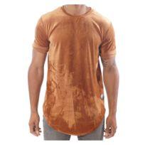 Project X Paris Tee shirt en velours oversize homme