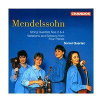 Chandos - Quatuors N 2 & 4
