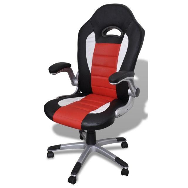 ergonomique sport 0502006 de bureau chaise Fauteuil noirrouge siège k8OwXNn0P