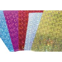 Maildor - carte holographique 35x50cm - pochette de 10 feuilles