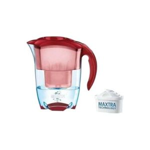 brita carafe filtrante elemaris rouge 1 cartouche incl pas cher achat vente carafe. Black Bedroom Furniture Sets. Home Design Ideas