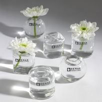 Serax - Vase solifleur en verre 6 pièces en 3 assortis 3cm Mix