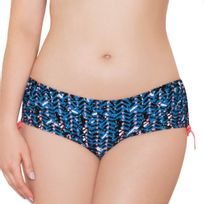 Curvy Kate - Bas de maillot de bain shorty Instinct Deep sea