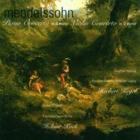 Berlin Classics - Mendelssohn : Concerto Pour Piano En La Mineur ; Concerto Pour Violon En RÉ Mineur - Cd