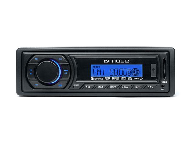 Destockage muse autoradio m 198 bt lecteur mp3 avec - Lecteur cd pour voiture avec port usb ...