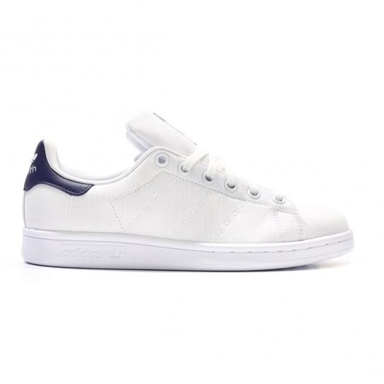 Adidas originals - Chaussures Stan Smith Toile W Blanc/Bleu e16