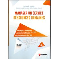Gereso - manager un service ressources humaines 3e édition