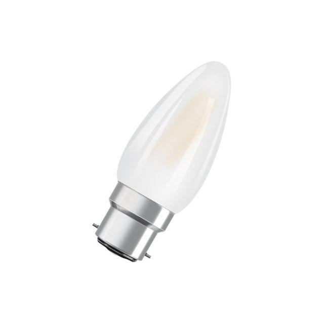 osram ampoule led b22 flamme d polie 4 w quivalent a 40. Black Bedroom Furniture Sets. Home Design Ideas