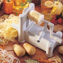 BRON COUCKE - coupe légumes et fruits spiral 3en1 - n6999