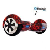 Air Rise - Hoverboard 6,5 Pouces Flamme Bluetooth+ sac de transport+ télécommande