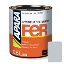 Apara - Peinture spéciale Fer Satin-0.5 litre-Gris clair RAL 7035