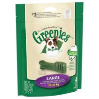 Greenies - Bâtonnets à Mâcher pour l'Hygiène Dentaire pour Grand Chien - x4