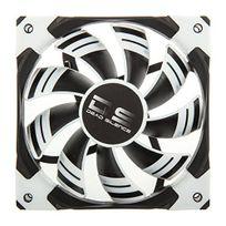 Aerocool - Ventilateur Dead Silence White Edition 120x120x25 blanc / noir 12,1 à 15,8 dB 62,4 à 93,1 m³ / h 36,7 à 54,8 cfm