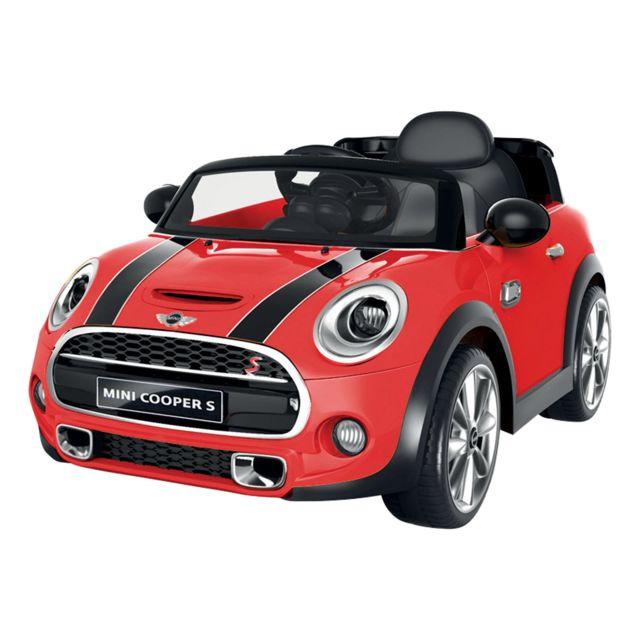 happy garden voiture lectrique mini cooper rouge pas cher achat vente v hicule. Black Bedroom Furniture Sets. Home Design Ideas