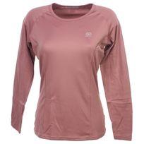 Damart Sport - Sous vêtements thermiques chaud Easybody 4 rose ml tee l Rose 26258