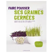 Larousse - Faire pousser ses graines germées Livre, éditeur