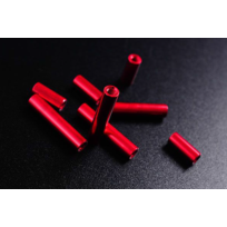 Diatone - Tubes aluminium rouge 10mm