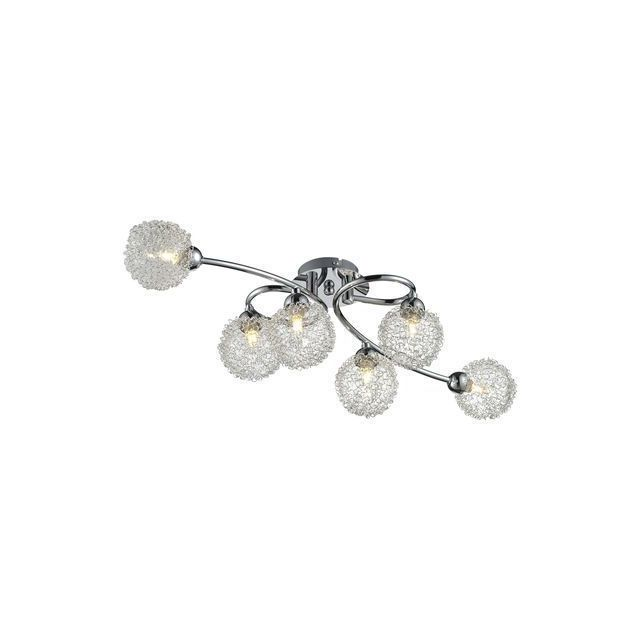 Esto Lighting Plafonnier Chrome Elena Evo 6x 42W 980079-6