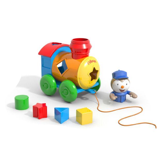 dujardin le train formes tchoupi pas cher achat vente jouets empiler rueducommerce. Black Bedroom Furniture Sets. Home Design Ideas