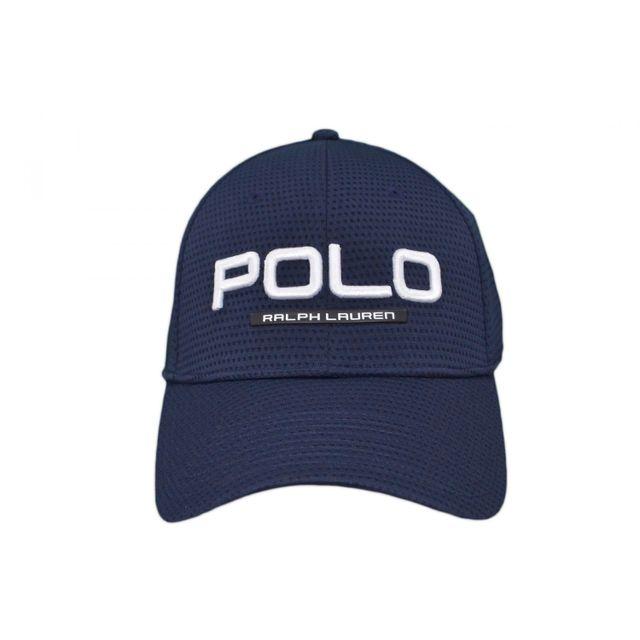 af354c09eedd Ralph Lauren - Casquette Polo bleu marine pour homme - pas cher Achat   Vente  Casquettes, bonnets, chapeaux - RueDuCommerce