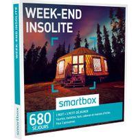 Smartbox - Week-end insolite - 760 séjours partout en France ou en Europe : yourtes, roulottes, tipis, cabanes et maisons dhôtes - Coffret Cadeau