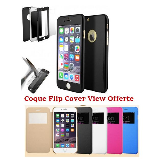 coque integral iphone 6 noir