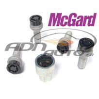 McGard - Lot de 4 vis - 12x150 - L26.4 - H17 - Conique - Noir - Antivol de Roues