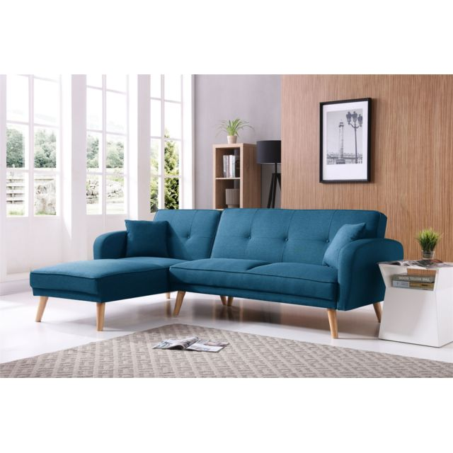Bestmobilier Magnus Canape D Angle Reversible Scandinave aa72c061f980