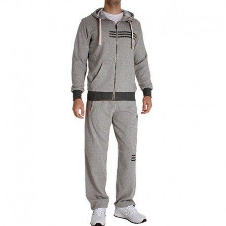 3c8508b305359 Adidas originals - Survêtement Entrainement Combat Gris Homme Adidas ...
