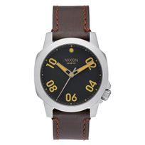 Nixon - Ranger 40 Leather Black / Brown