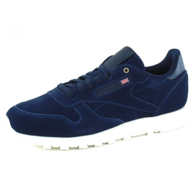 841f573e9c8c7 Reebok - Baskets Classic Leather Mcc Men - pas cher Achat   Vente ...
