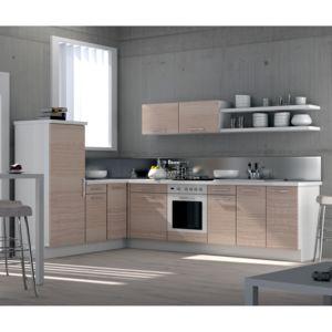 cuisine droite longueur 240cm module d 39 angle colonne mood pas cher achat vente meubles. Black Bedroom Furniture Sets. Home Design Ideas