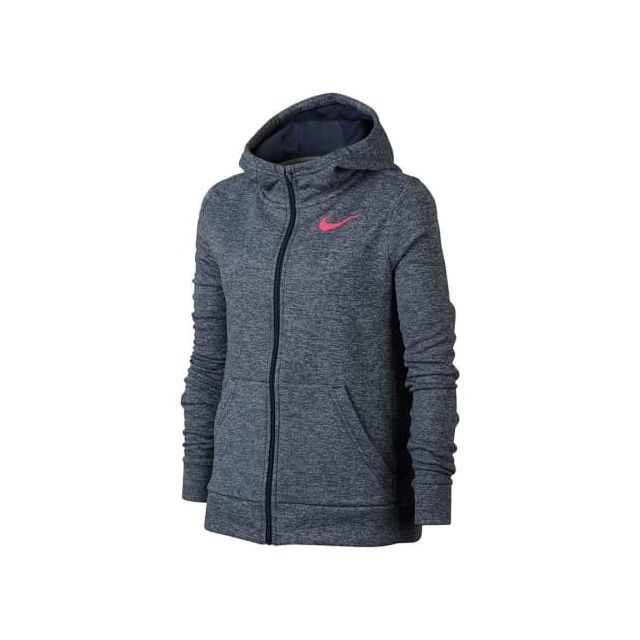 coupon codes size 40 authentic Nike - Sweat-shirt Therma Hoodie Fz gris rose enfant ...