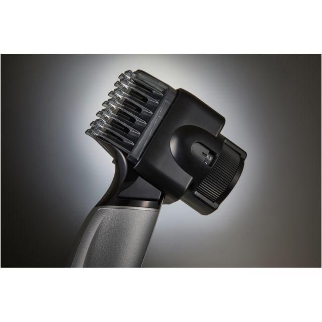 PANASONIC Tondeuse à barbe ER-GD60-S803 La tondeuse barbe ER-GD60-S803 de Panasonic est parfaite pour ceux qui souhaitent dessiner les lignes de leur barbepuisqu'elle vous offre uneprécision exceptionnelle.Ellevous offre des