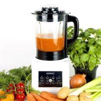 Duronic - Bl89 Blender chauffant 1,75 l - Fonctions soupe crémeuse / moulinée, cuisson vapeur, réchauffer, mixer, smoothie