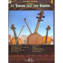 Lemoine - Allerme Jean-marc - Le Violon Fait Son Cinéma Vol.1 + Cd