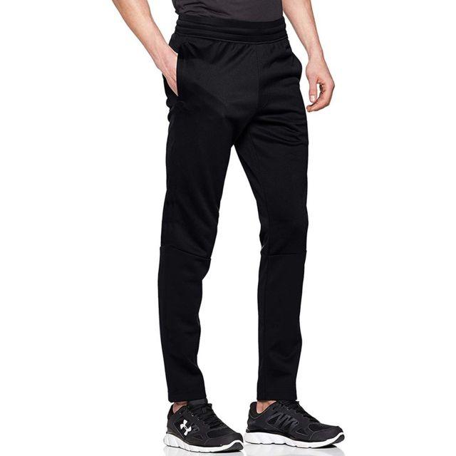 UNDER ARMOUR Fleece Homme Pantalon Polaire Noir Noir M