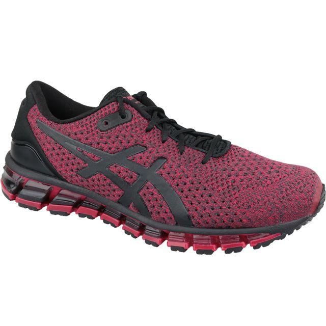 asics rouge femme running