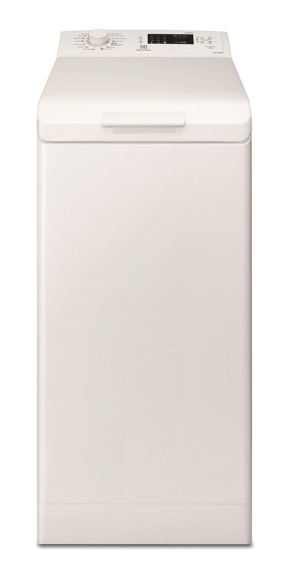 Lave-linge top ELECTROLUX EWT1061SSW