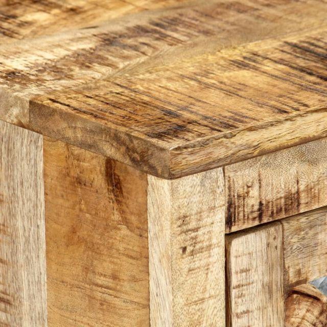 Icaverne - Buffets & bahuts serie Table de chevet 40 x 30 x 50 cm Bois de manguier massif