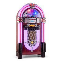 AUNA - Graceland XXL BT Jukebox Bluetooth USB SD AUX CD FM/AM