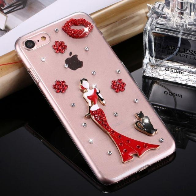 coque iphone 8 motif diament