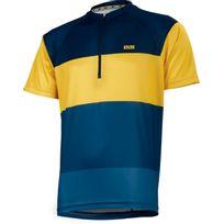 Ixs - Trail 6.1 - Maillot manches courtes - jaune/bleu