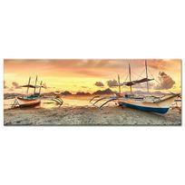 Declina - Tableau photo paysage à marée basse - Déco murale salon