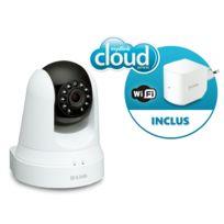 DCS-5020L Caméra IP panoramique Wi-Fi + Répéteur Wi-Fi 300Mbps