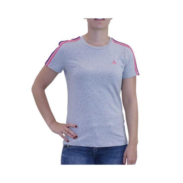 t shirt court femme adidas